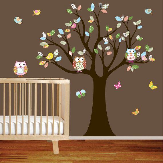 Muurversiering babykamer  InteriorInsidernl