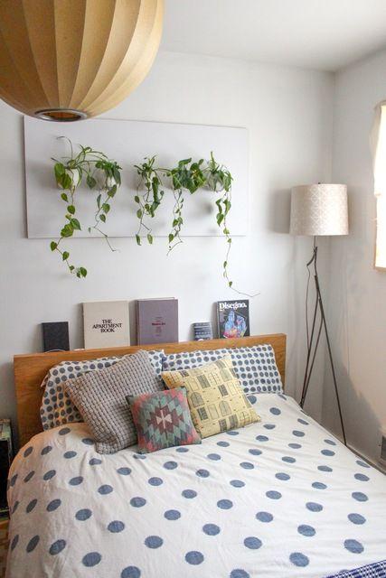 Plant in slaapkamer  InteriorInsidernl