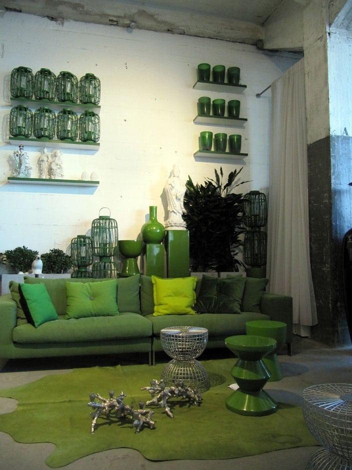 Groen combineren  Interieur Insider
