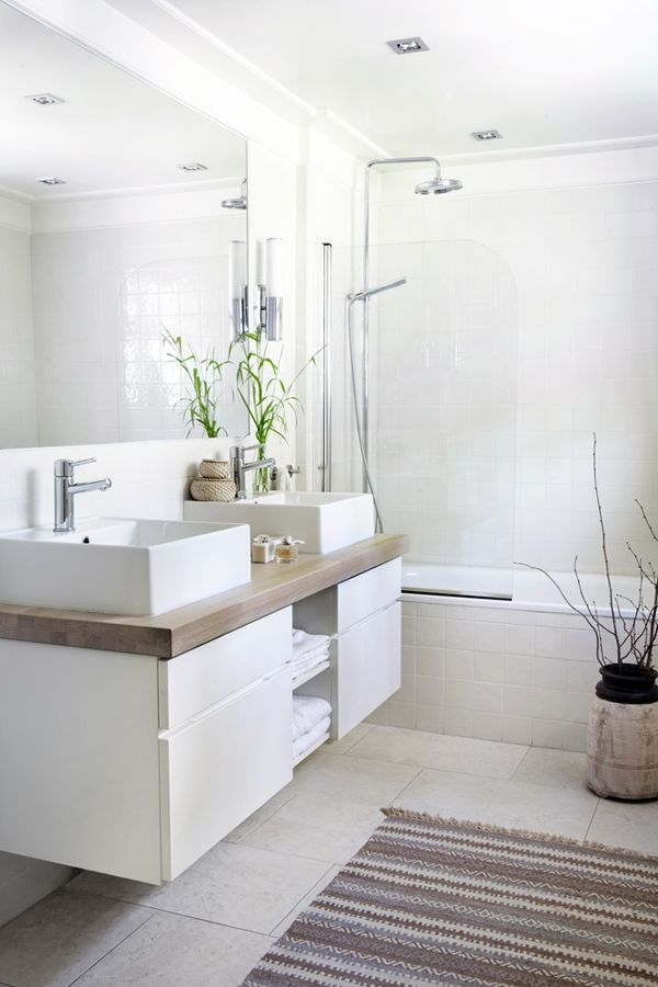 Witte badkamer  Interieur Insider
