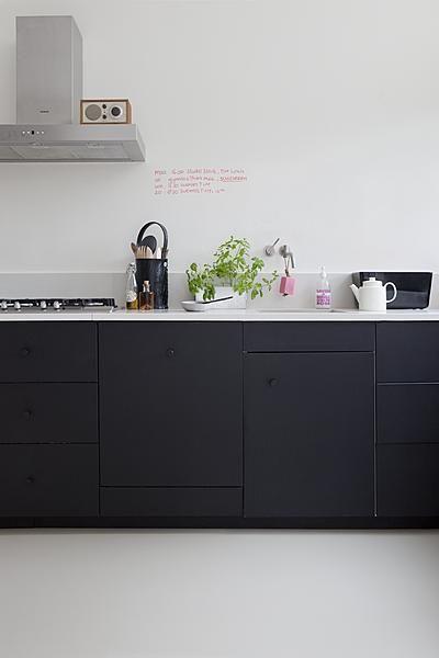 Zwart keuken  InteriorInsidernl