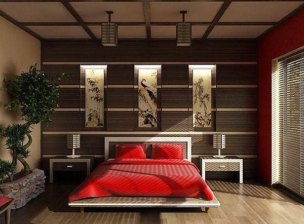 Aziatische slaapkamer  InteriorInsidernl