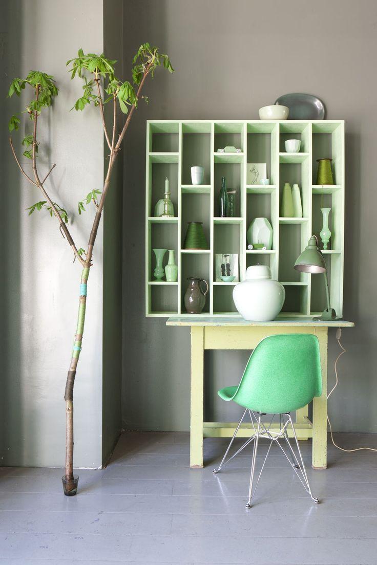 Groene accessoires  InteriorInsidernl