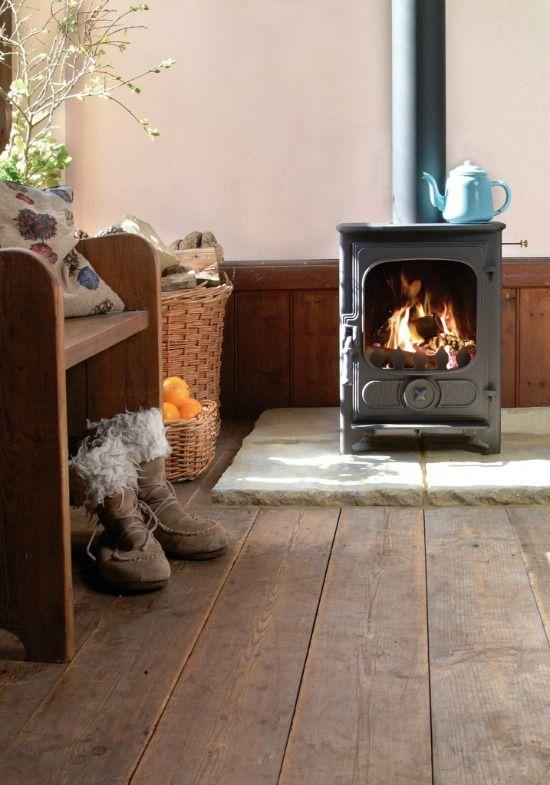 Oude houten vloer  InteriorInsidernl