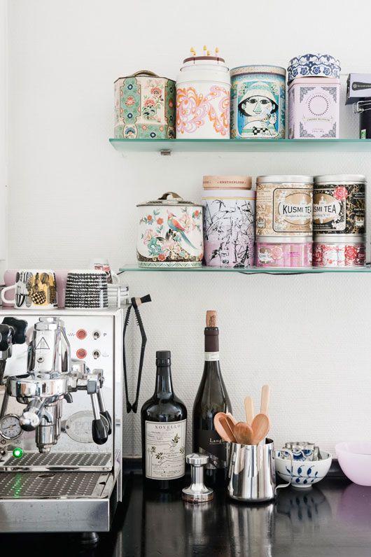 Maak een koffiehoek in je keuken  InteriorInsidernl