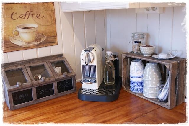 Hoekje voor koffie en thee  InteriorInsidernl