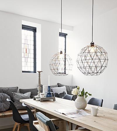 voorbeelden lampen eettafel Archieven  Interieur Insider