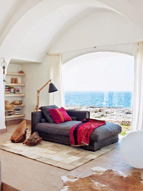 Chaise longue in woonkamer of slaapkamer  InteriorInsidernl