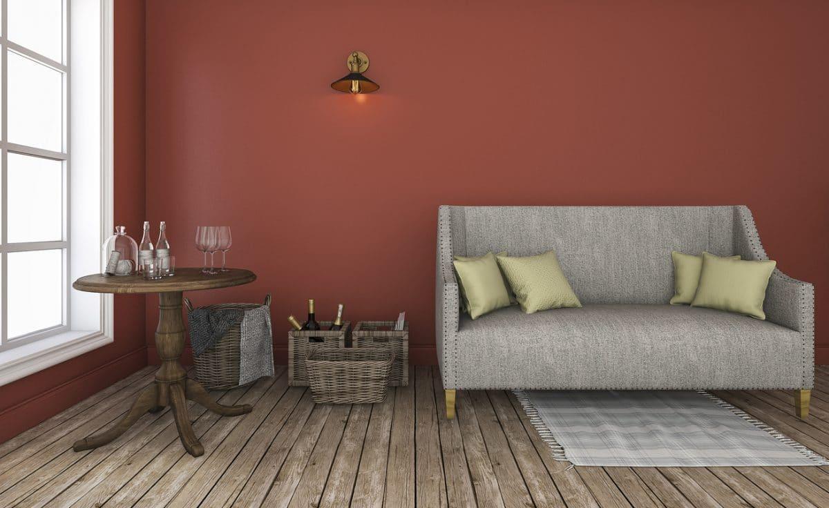 Warme kleuren in woonkamer  InteriorInsidernl