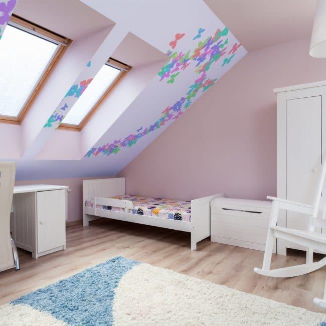 Slaapkamer op zolder  InteriorInsidernl