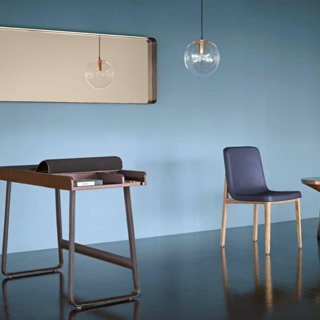 Blauwe woonkamer  InteriorInsidernl