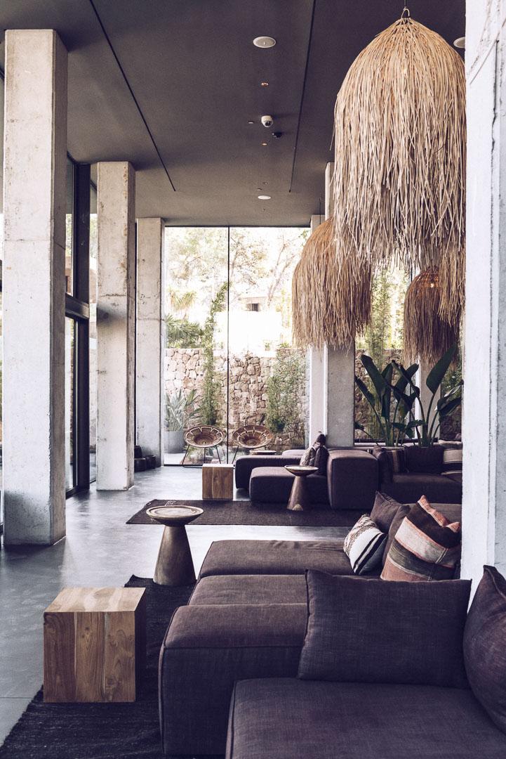 Imagen interior hold decoración diseño real estate en casa cook ibiza