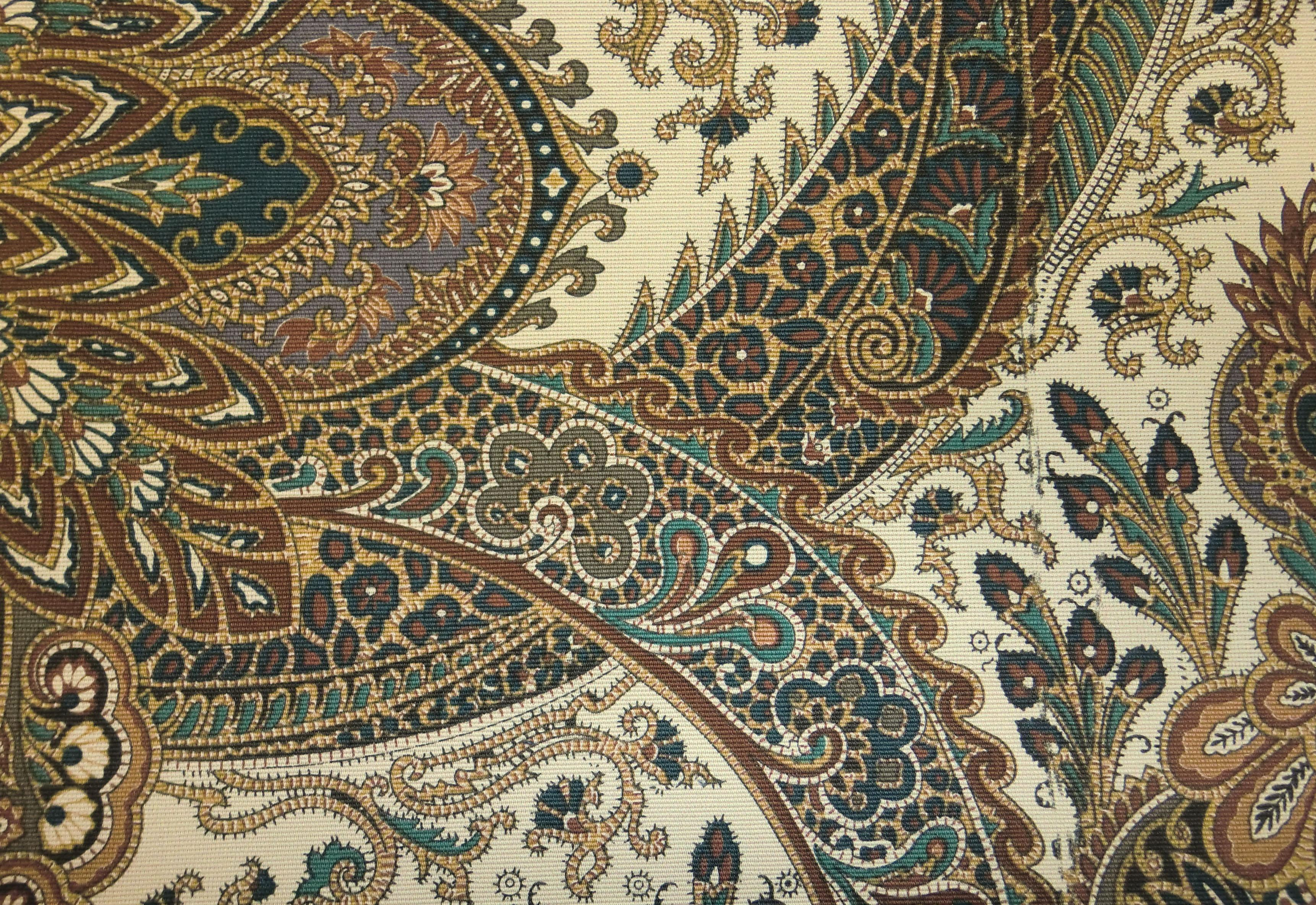 Paisley Home Decor Fabric