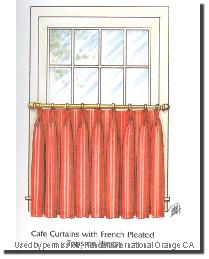 FRENCH CAFE CURTAINS Blinds Shades Curtains
