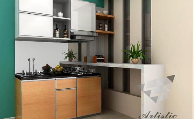 Mebel Multifungsi Di Dapur Kitchen Set Minimalis Jasa