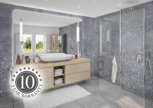 tile effect bathroom wall panels by ipsl