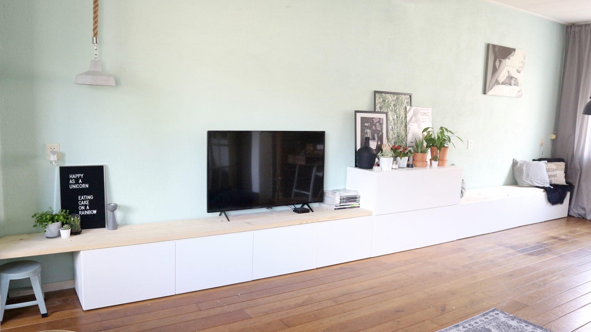 IKEA Besta Hack  IKEA Besta 2in1 zitbank  tv meubel