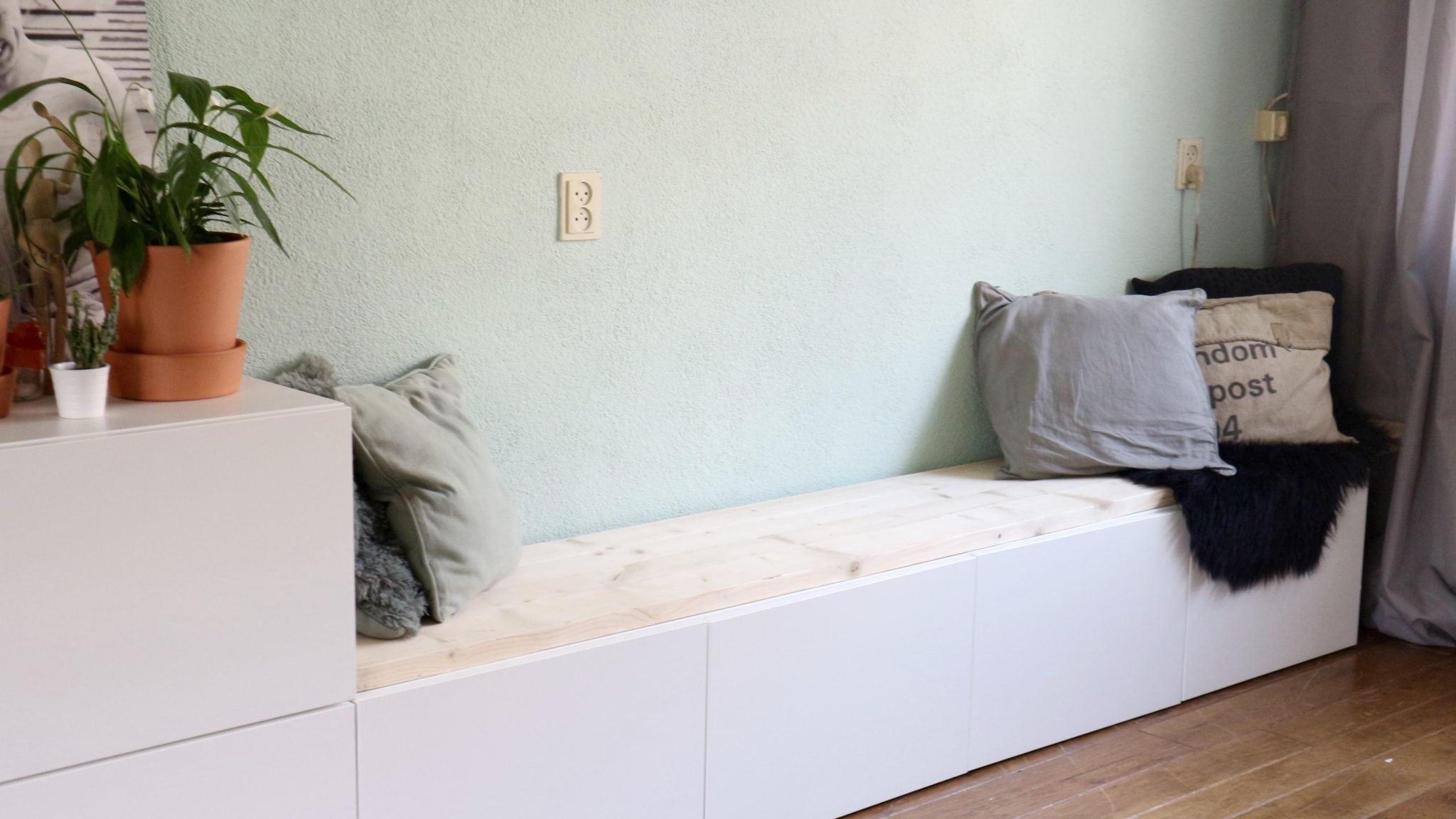 IKEA Besta Hack | IKEA Besta 2-in-1 zitbank + tv meubel | InteriorQueen