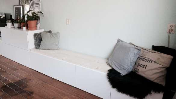 ikea besta hack ikea diy tv meubel tv kast eetbank zitbank dressoir