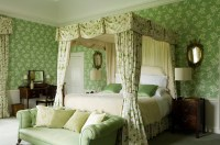 Irish Country Green Bedroom - Interiors By Color