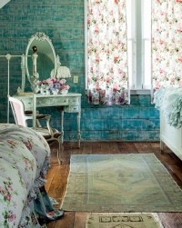 Prairie Shabby Chic Bedroom - Interiors By Color
