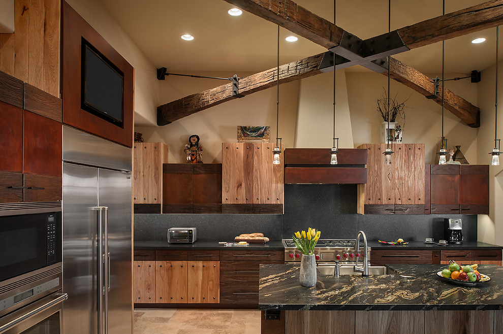 Rustic Luxury Kitchen - Interiors By Color