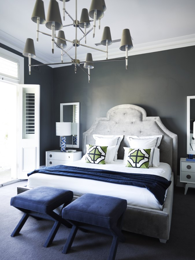 See more ideas about bedroom decor, grey walls, bedroom design. Clarke Payne House - Interiors By Color