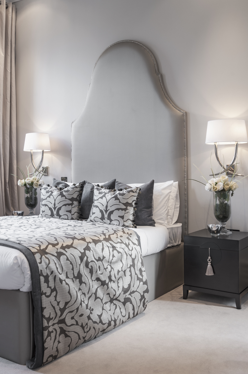 Traditional Grey Bedroom Elegance Interiors By Color
