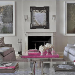 Leopard Print Living Room Country Rooms Colors Pink And Gray Space - Interiors By Color