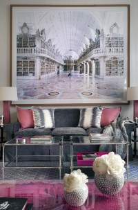 Pink and Gray Space - Interiors By Color