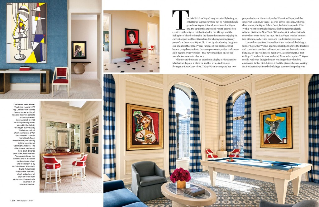interior paints for living room tall floor lamps full house - architectural digest march 2014 interiors ...