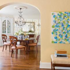Pretty Living Room Paint Colors Electric Stoves Benjamin Moore Hawthorne Yellow - Interiors By Color
