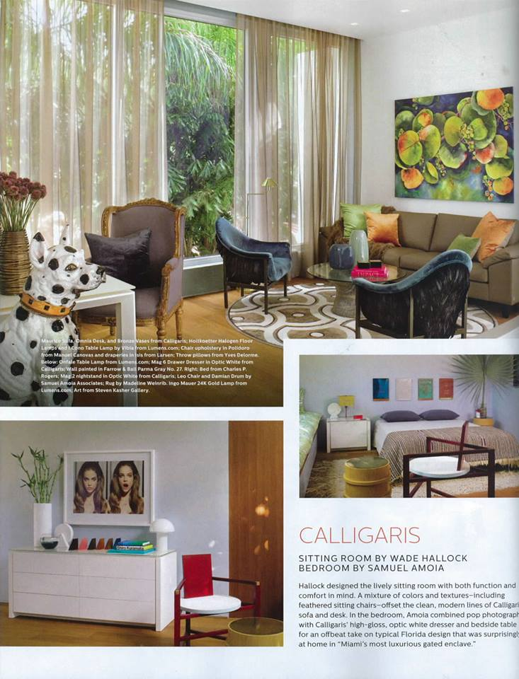 royal blue chairs lounge chair clearance elle decor april 2014 - interiors by color