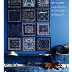 Navy Kitchen Cabinets Designs Of Small Modular All About Indigo - Interiors By Color