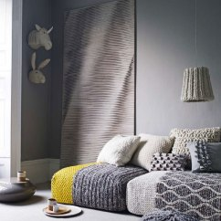 Gray And Yellow Living Room Images Design For With Open Kitchen Wool Scheme - Interiors By Color