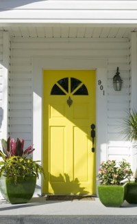 A Yellow Door - Interiors By Color