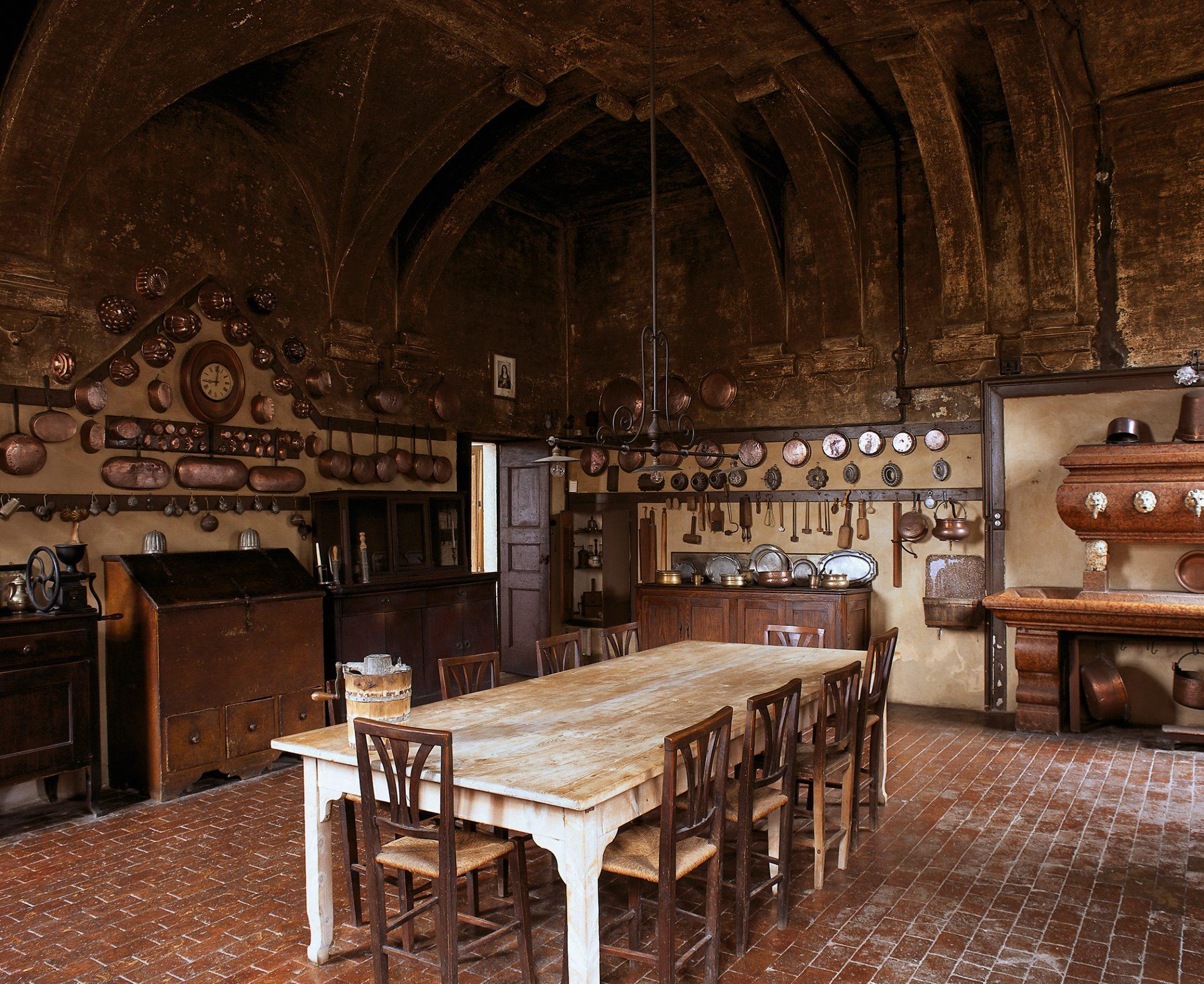 Villa Fracanzan Piovene Kitchen  Interiors By Color
