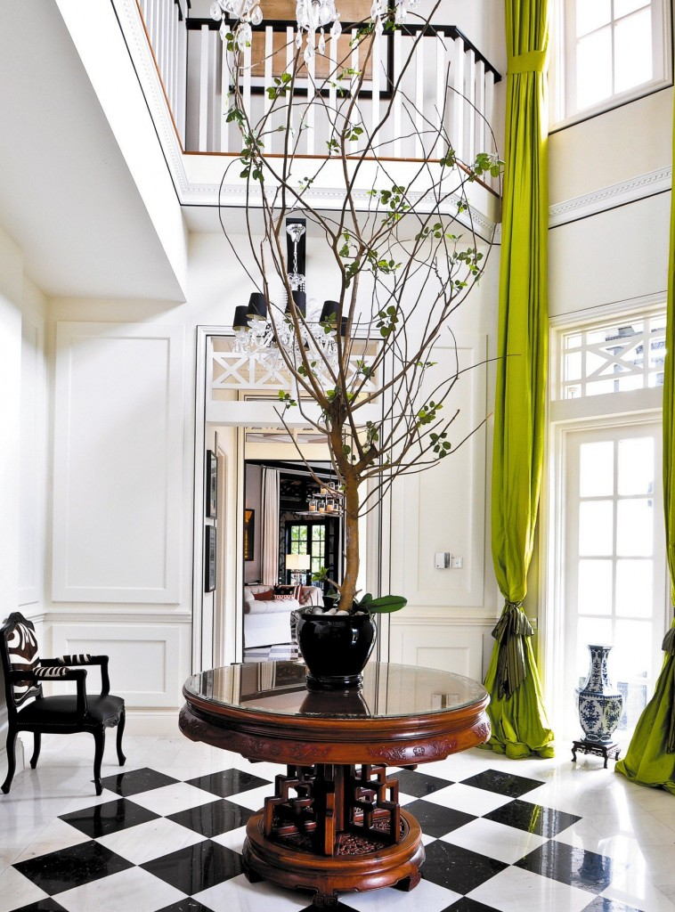 title | White Foyer Tables
