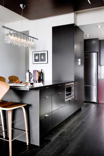red kitchen cabinets unfinished base modern in and charcoal - interiors by color