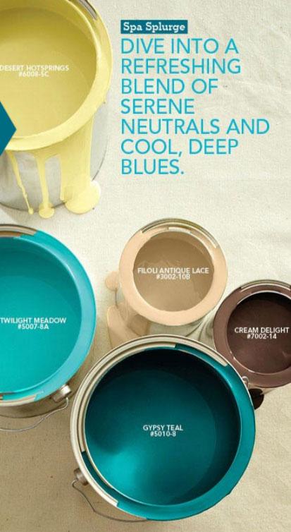 living room color schemes with navy blue design furniture arrangements palette - spa splurge interiors by