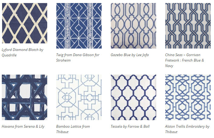Bold And Graphic Trellis Garden Inspired Wallpaper Interiors By Color