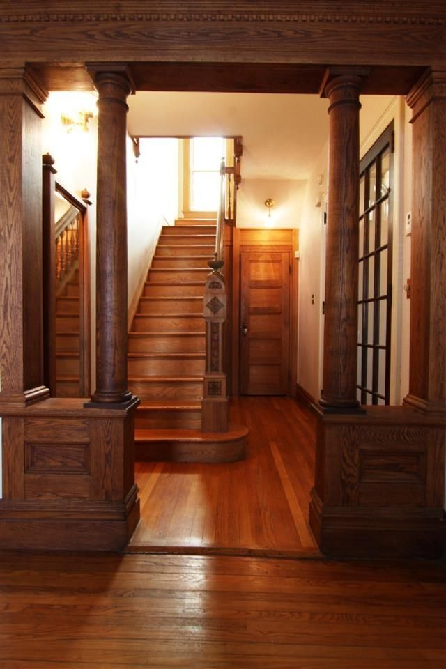 Wooden Victorian Staircase  Interiors By Color