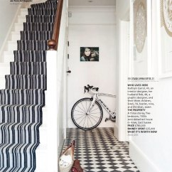 Owl Kitchen Rugs 4 Hole Faucets Monochrome Entrance And Stairs - Interiors By Color