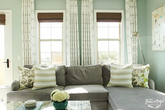 green kitchen chairs how to refurbish cabinets palladian blue master bedroom - interiors by color