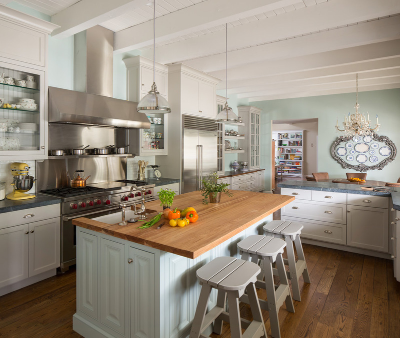 California Ranch Style Kitchen Interiors By Color