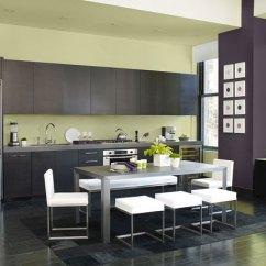 Navy Kitchen Cabinets Smoke Extractor Cool, Contemporary In Benjamin Moore's Chambourd ...