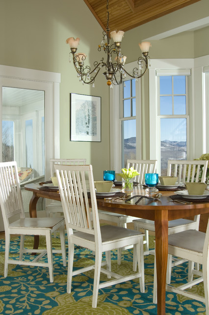 navy dining room chairs slim fold high chair green with white - interiors by color