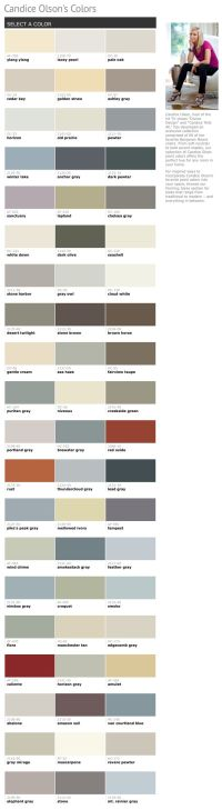 60 of Candice Olson's favorite Benjamin Moore paint colors ...