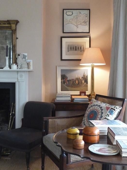 Farrow  Balls Setting Plaster Sitting Room  Interiors