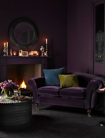 chloe velvet tufted sofa living room furniture collection sectional or two sofas aubergine next 3 seater in colchester ...